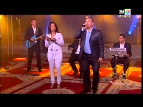 Hassan El Berkani et Rima sur 2M TV