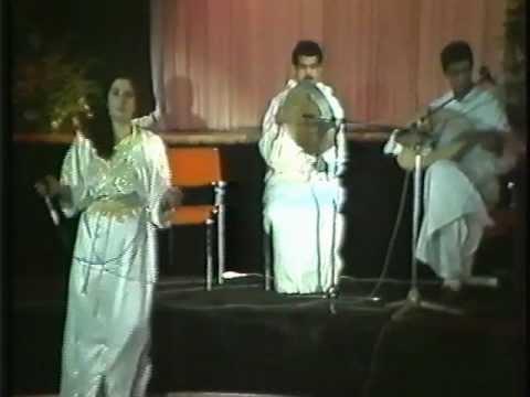 Sellam Arifi et Hakima Al Hoceimia - Aya m-Fardha xu Fudh - Live 1990
